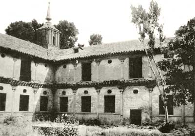 El claustro del Monasterio de San Bernardo de Guadalajara